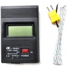Термометр цифровий з термопарою TM-902C
